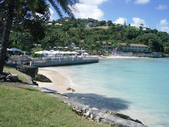 Blue Waters Antigua : Main Beach at Blue Waters