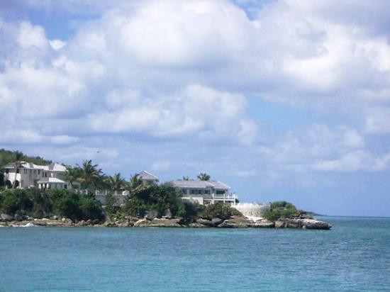 Blue Waters Antigua: View of Rock Cottage from Blue Waters Beach