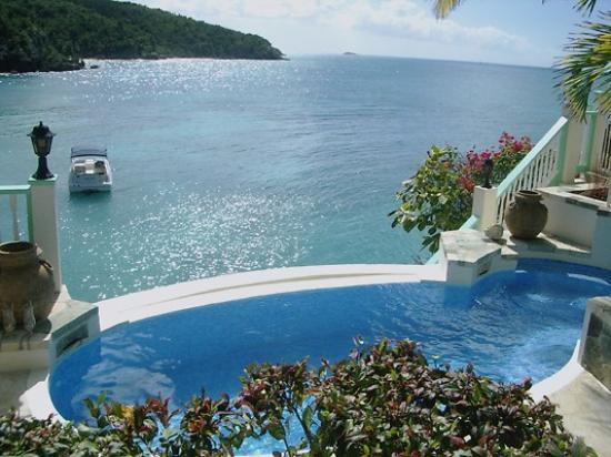 Blue Waters Antigua: Rock Cottage Plunge Pool