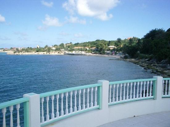 Blue Waters Antigua: View of Blue Waters from Rock Cottage