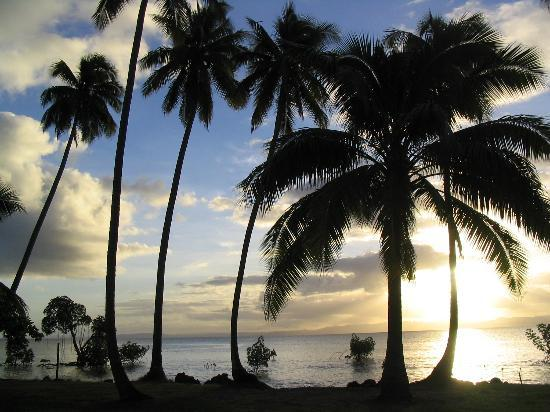 Savusavu, Fiji: The view from our Bure