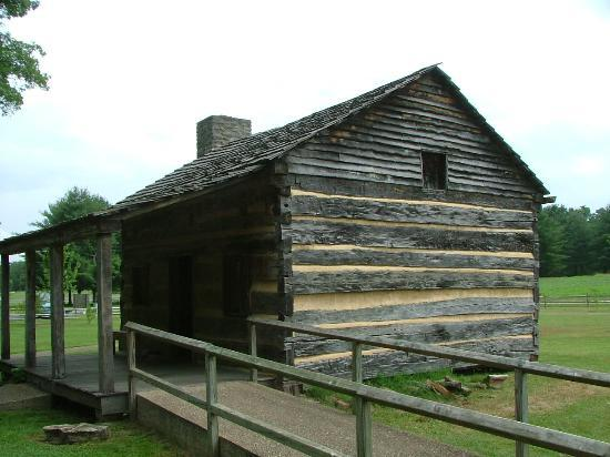 Davy Crockett Replica Cabin Picture Of David Crockett
