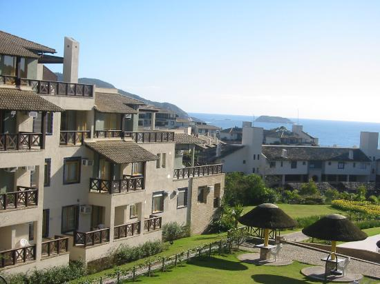 Costão do Santinho Resort Golf & Spa : The villas overlooking the ocean