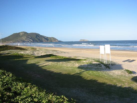 Costão do Santinho Resort Golf & Spa: Sun starts to set over the resort