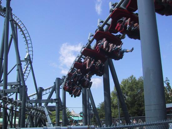Canada's Wonderland: Top Gun, probley the best ride at Wonderland!