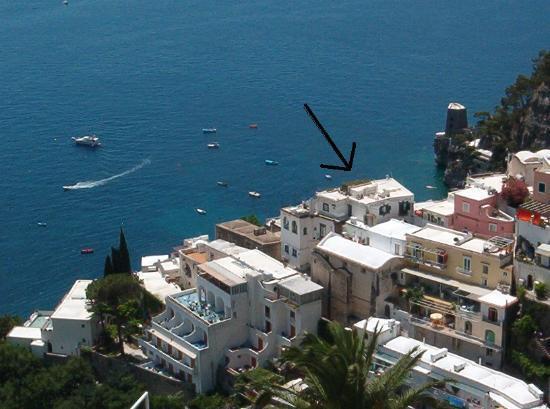 Pensione Maria Luisa - Amalfi Coast: Location of Pensione M. Luisa