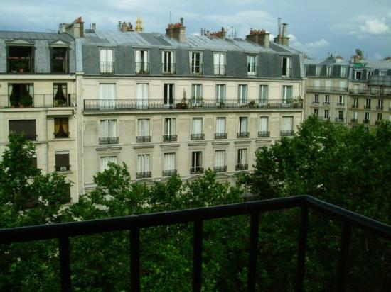 Prince Hotel: View from the balcony