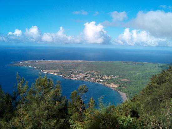 Molokai, Hawaï: kalaupapa lookout