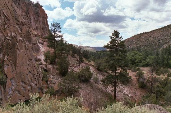 Los Alamos, NM: Frijoles Canyon