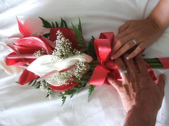Blue Waters Antigua: My Wedding Bouquet