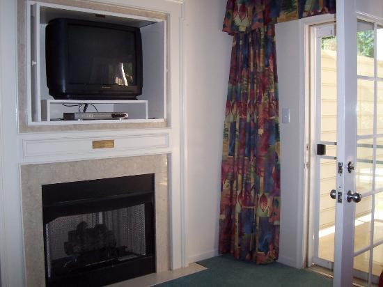 Greensprings Vacation Resort: fireplace(disabled in summer)