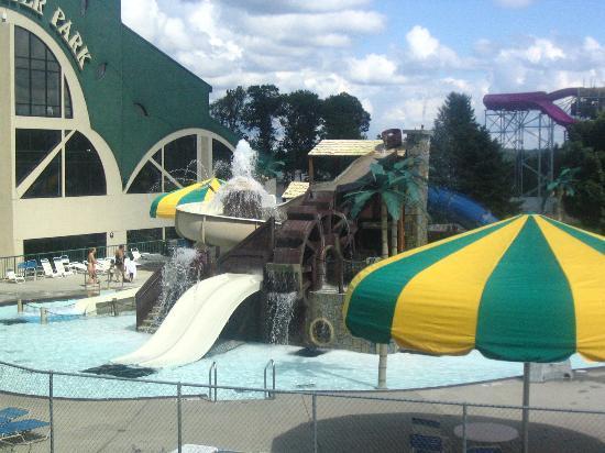 Wisconsin Dells, WI : Outdoor Waterpark at Mt. Olympus