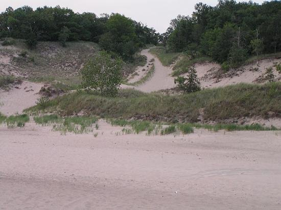 Porter, IN: One of the Indiana Dunes Hills