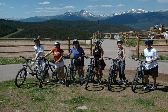 81 Aspen Meadow: Mountain biking