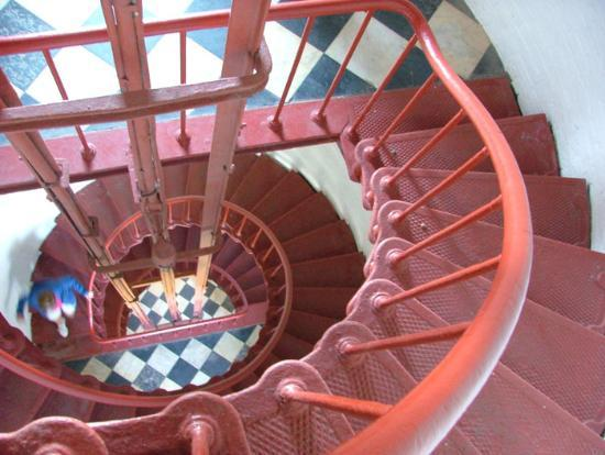 Outer Banks, Carolina del Norte: Cape Hatteras stairs