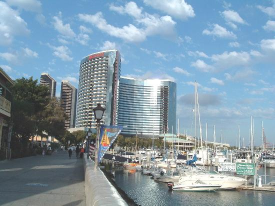 Hampton Inn San Diego - Downtown : A View From Seaport Village