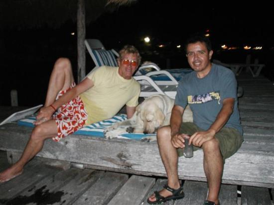 Hacienda Punta Sam: A friendly lab named Turko that hung out on the beach.