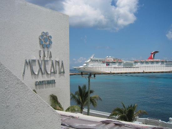 Casa Mexicana Cozumel: View from Room 203