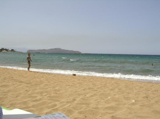 Ammos Hotel: Ammos beach view