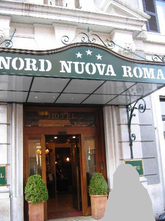 Entrance to Hotel Nord Nuova Roma - Picture of Hotel Nord Nuova Roma ...