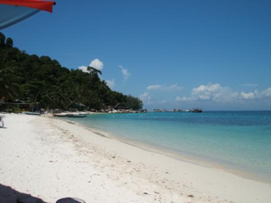 Pulau Perhentian Besar, Malaysia: The view from Tuna Bay