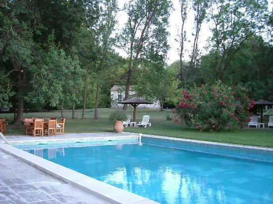 Le Chateau des Alpilles: the Pool