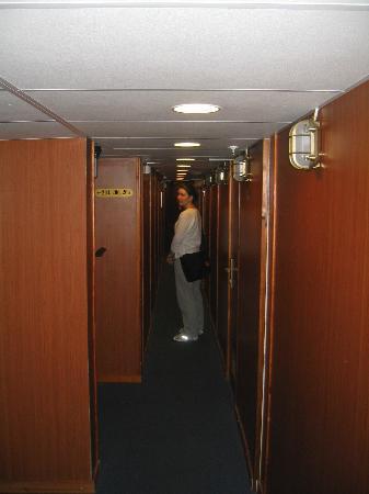 Loginn Hotel: The hallway