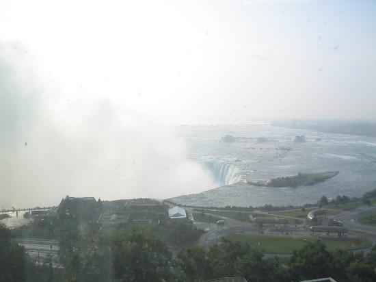 Embassy Suites by Hilton Niagara Falls Fallsview Hotel: View from our room on the 15th floor