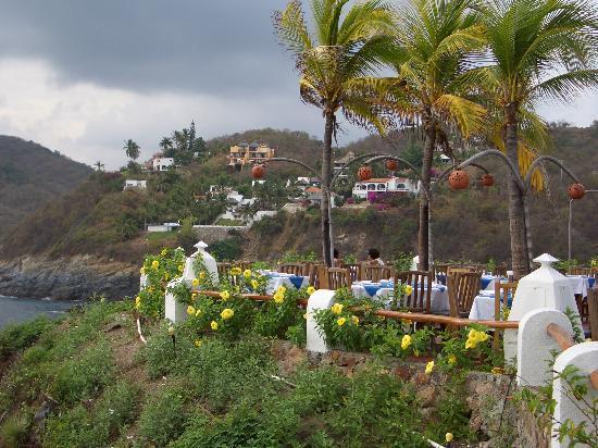 Isla Dorado: dinner at l'reclif