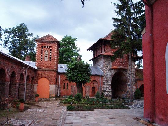 Vrnjačka Banja, Srbija: Mon.Zica,inside