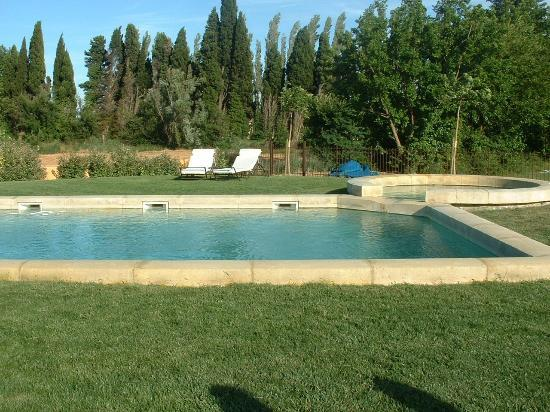 Justin de Provence: With a fenced-in swimming pool