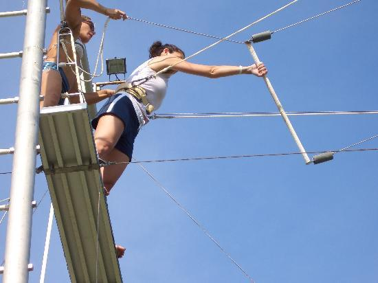 Club Med Cancun Yucatan: trapeze lessons are included