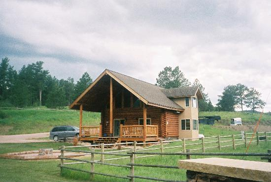 "High Country Guest Ranch: The ""Mtn. View"" cabin at High Country"