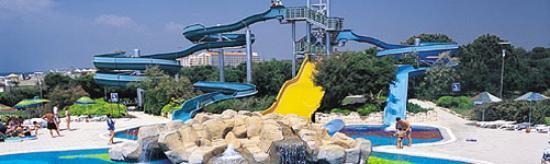 SENTIDO Zeynep Resort : the Slides and Waterfall Cave