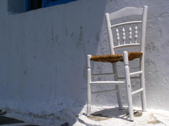 Mykonos, Greece: Chair