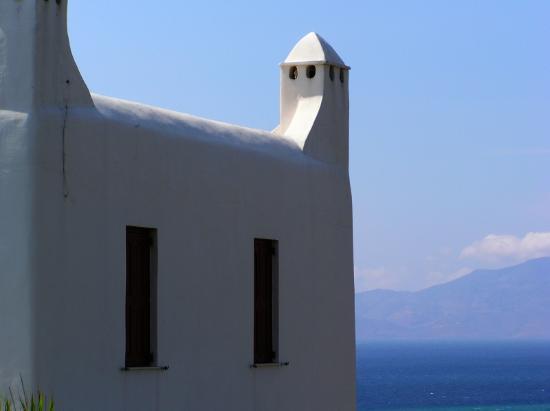 Mykonos, Griechenland: Chimney