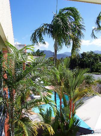 Tropical Queenslander Cairns Holiday Studio & Apartment: The Balcony View