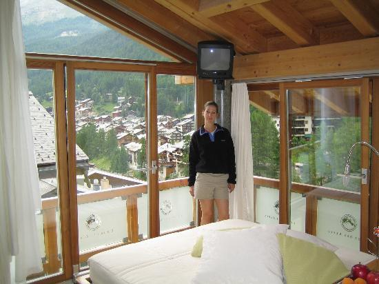 Coeur des Alpes: Great room views!!