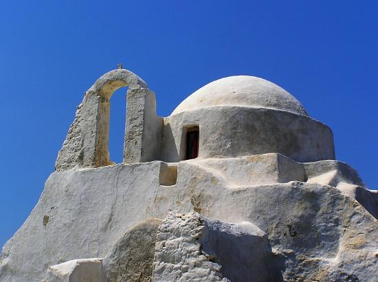 Mykonos by, Hellas: Paraportiani church - Mykonos