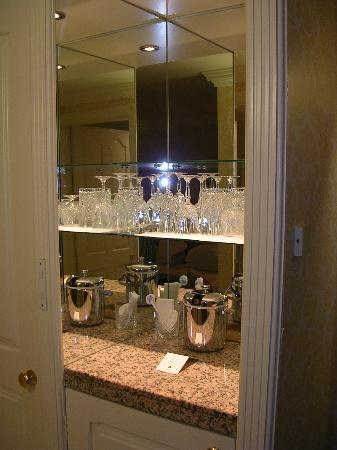 The Westbury: Impressive Array of Crystalware