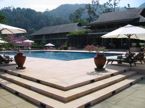 The Datai Langkawi: Main Building & Adult Pool