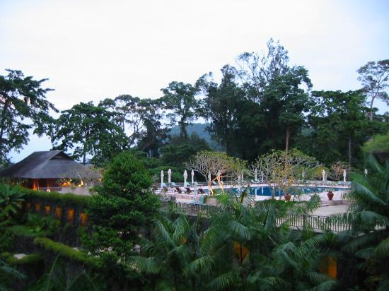 The Datai Langkawi: View from our room over the adult pool