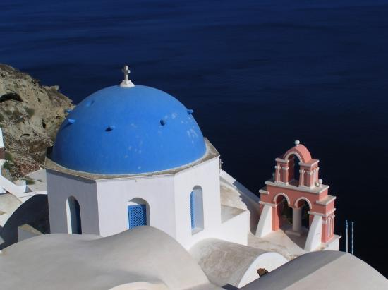 Santorini, Greece: Church - Fira