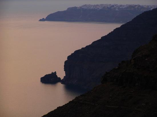 سانتوريني, اليونان: Caldera view