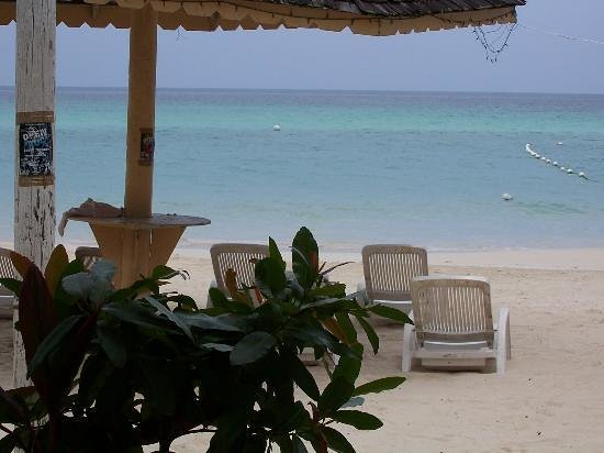 Negril Palms Hotel: The Beach