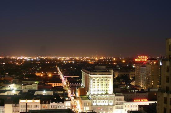 Bourbon Street From Hotel Roof Picture Of Hilton Garden Inn New