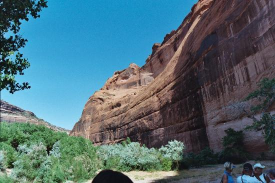 Canyon de Chelly National Monument: The canyon walls