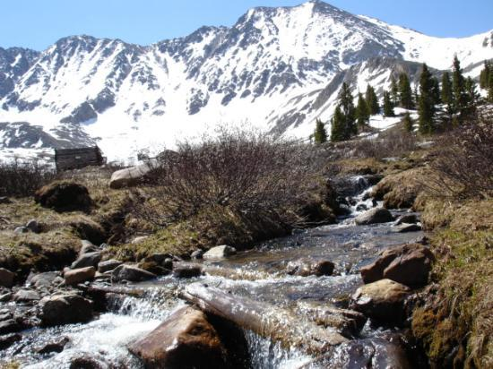 Leadville, Κολοράντο: Mayflower Gulch in June