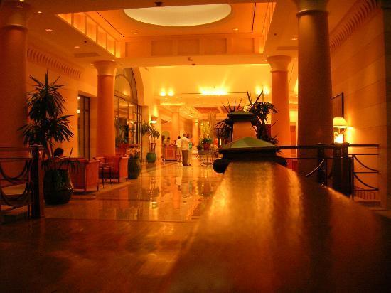 Hyatt Regency Sharm El Sheikh Resort: The magnificent lobby