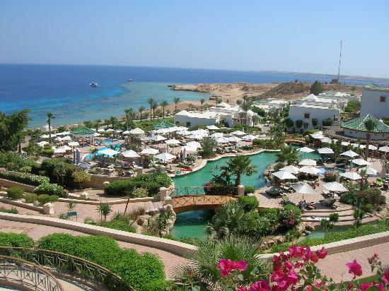 Hyatt Regency Sharm El Sheikh Resort: View from the upper veranda